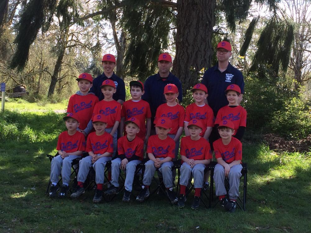 Click to enlarge Steilacoom Chamber Baseball Team