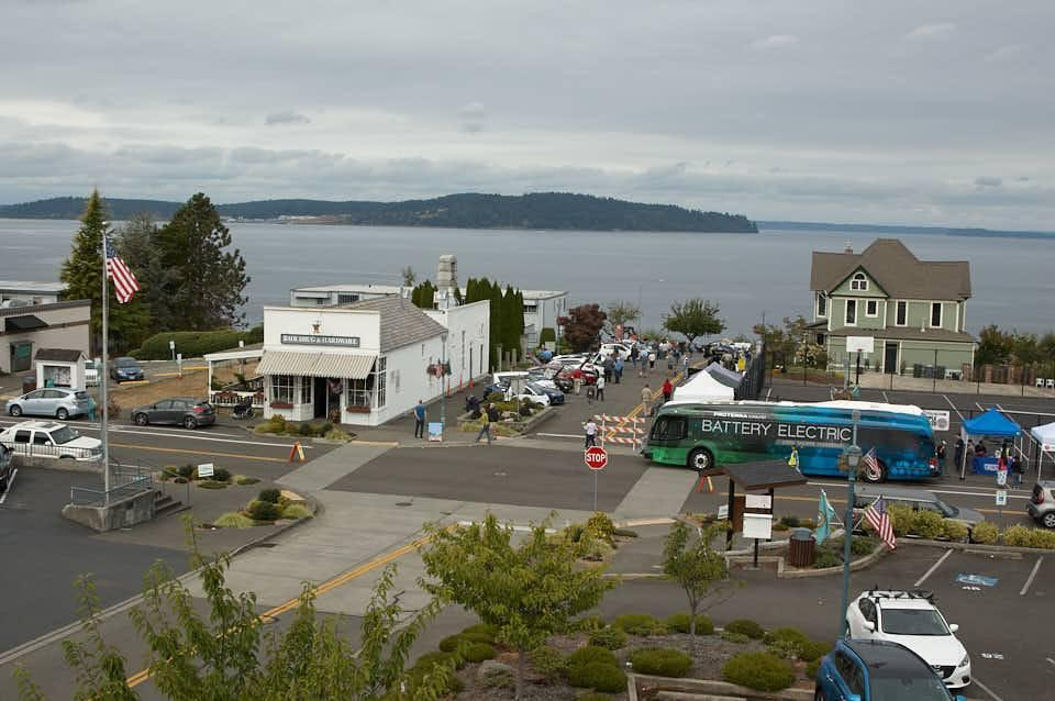 Click to enlarge 2018 National Drive Electric Week Steilacoom