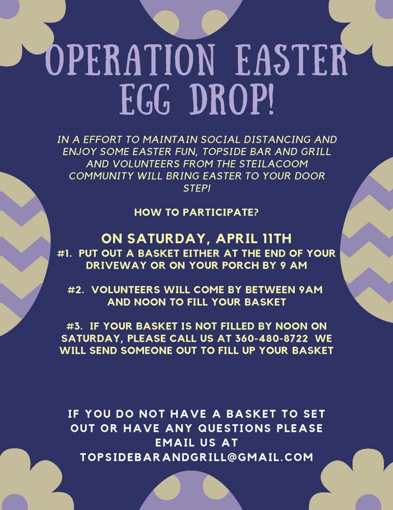 Click to enlarge Operation Easter Egg Drop